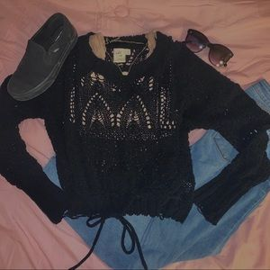 knit sweater from BKE